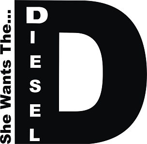 Funny Vinyl Decal Sticker DIESEL HQ 5x7 ANY COLOR!