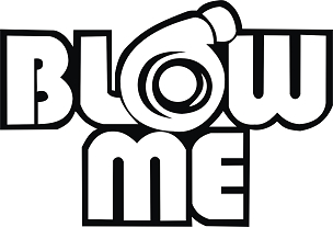Funny TURBO Vinyl Decal Sticker BLOW ME HQ 5x7 ANY COLOR!
