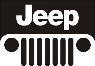JEEP Vinyl Decal Sticker JEEP GRILL HQ 5x7 ANY COLOR!