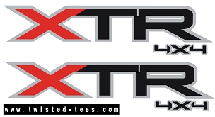 XTR Bed Decal Set (2004-2014) FORD - (3M)