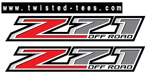 Z71 Off Road Bed Decal Set (2014-2018) - CHEVROLET/GMC (3M)